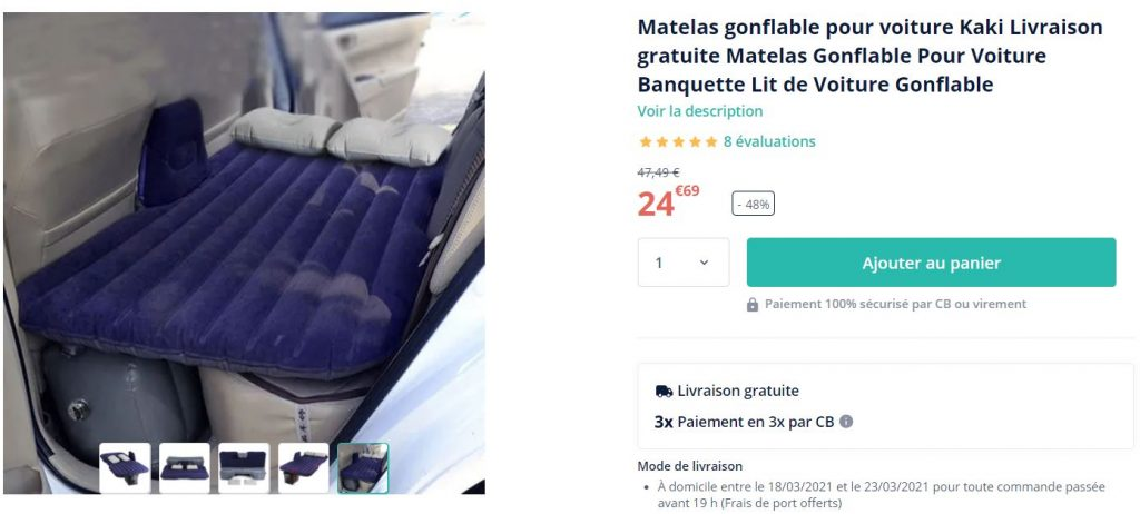 matelas-gonflable-pas-cher-voiture