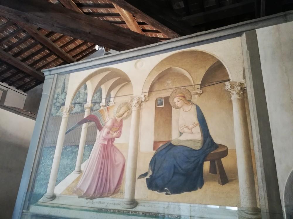 visite-guidee-chapelle-medicis-Annonciation-Saint-Marco