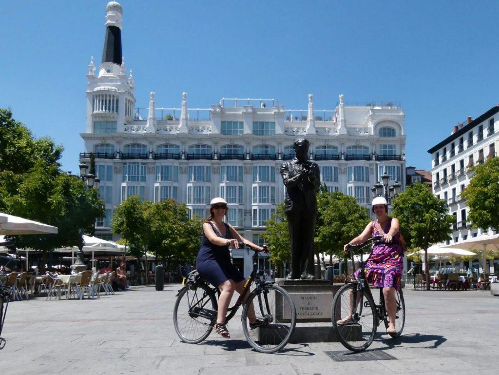 Visite guidée en français de Madrid à vélo