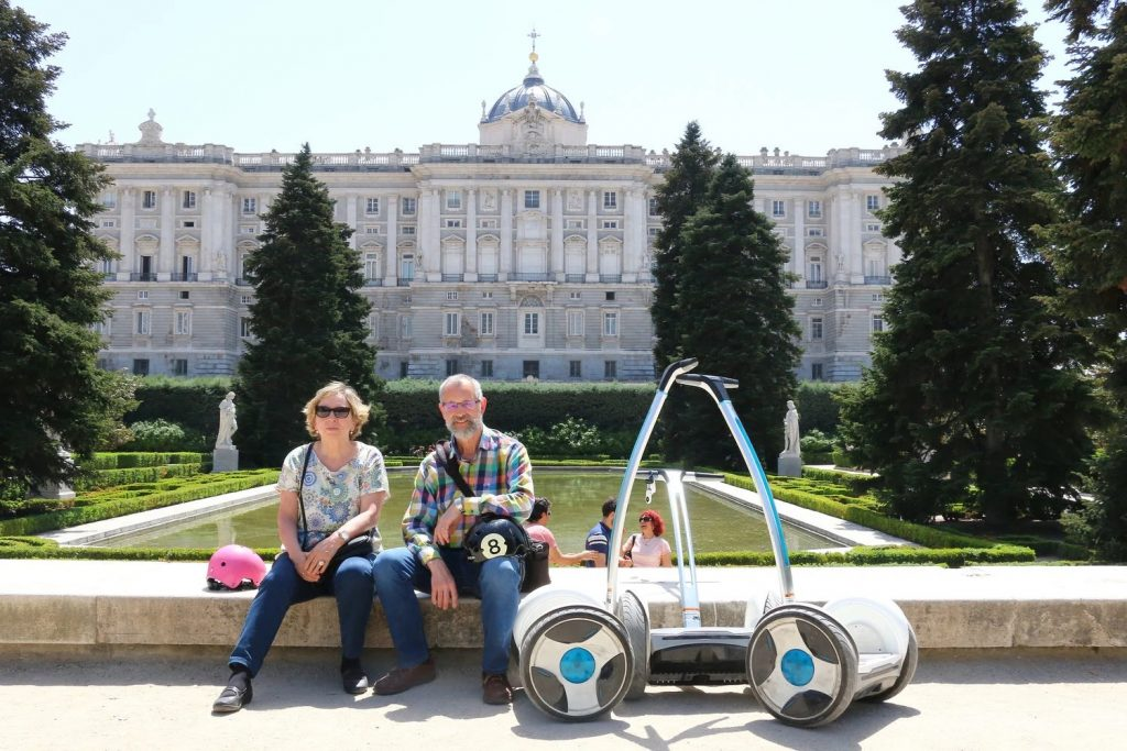 Visite guidée de Madrid en Segway