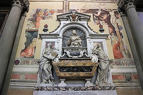 Santa-Croce-Tombe-de-Galileo