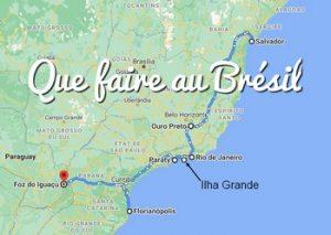 Que faire au Brésil - Itineraire au Brésil (avec logement)