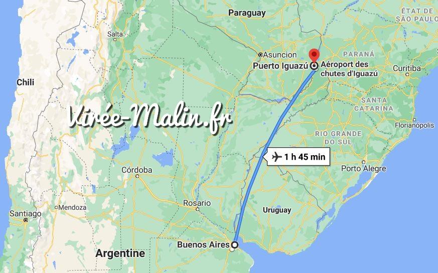 rejoindre-puerto-iguazu-depuis-buenos-aires