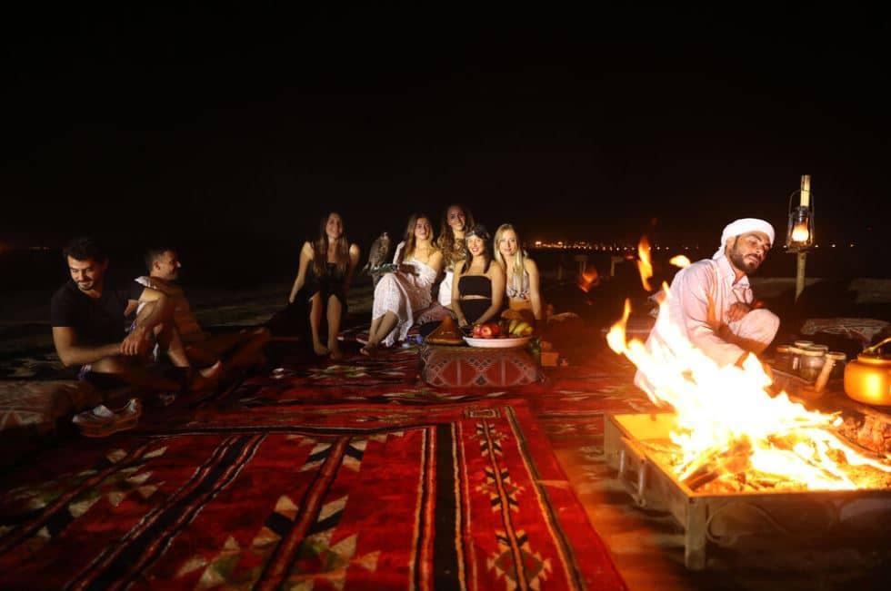 barbecue-repas-nuit-desert-dubai