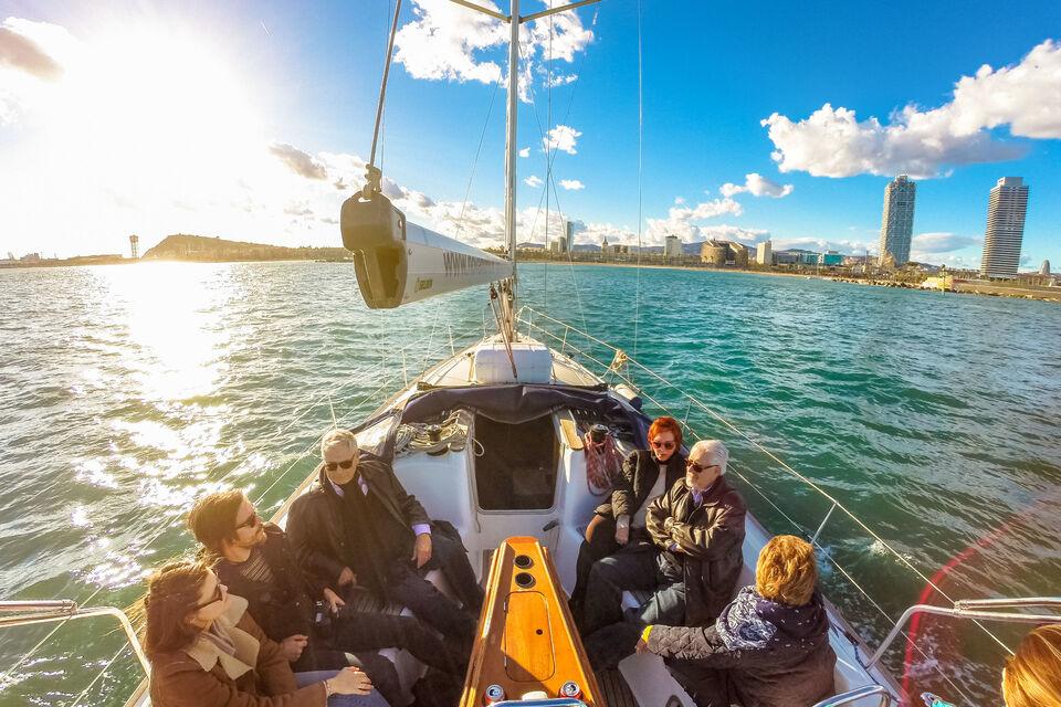croisiere-bateau-depuis-port-Vell-barcelone