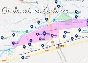 Où dormir en Andorre ? Où loger pendant l'été et pendant l'hiver en Andorre
