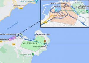 Où dormir à Saint Tropez au bord de mer