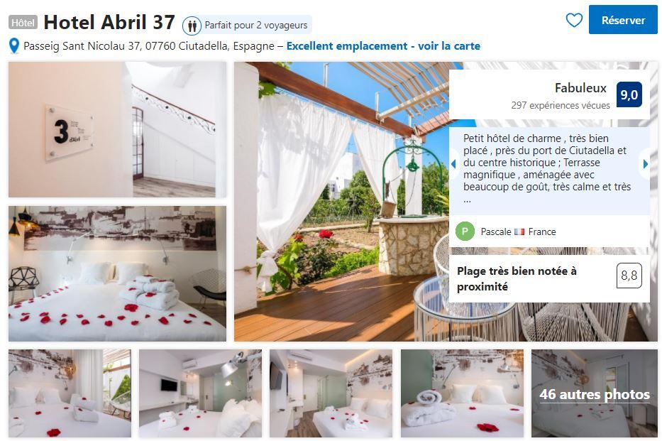 hotel-abril-ciutadella-proche-centre-historique