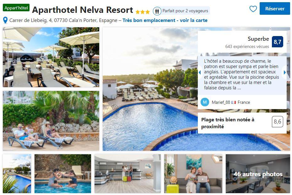 hotel-proche-plage-cala-en-porter-minorque