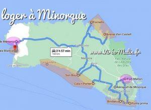 Où loger à Minorque et dans quelle ville dormir à Minorque ?