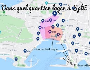 Où loger à Split