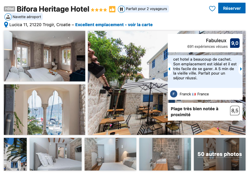 trogir-hotel-de-charme-proche-vieille-ville-avec-restaurant-et-bar