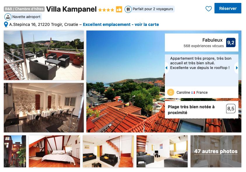 villa-bon-rapport-qualite-prix-parking-gratuit-rooftop-trogir