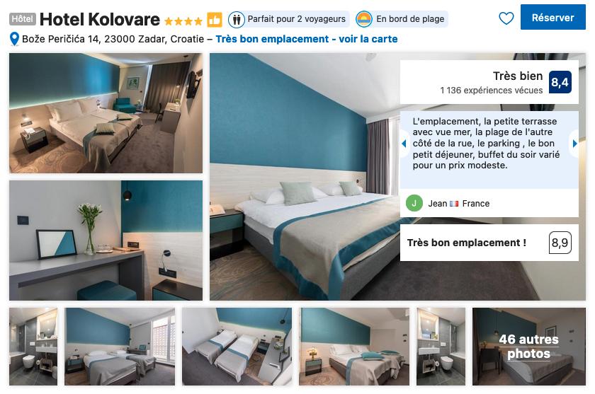 zadar-hotel-tres-bon-rapport-qualite-prix-au-calme-proche-bord-de-mer