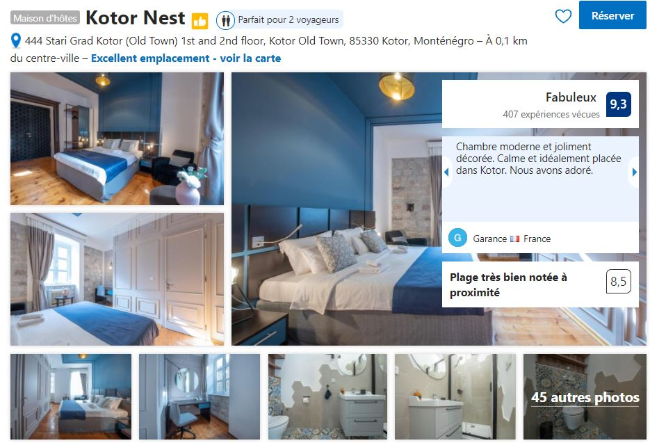maison-hotes-kotor-bon-rapport-qualite-prix