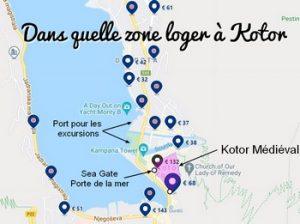 Où dormir à Kotor ?