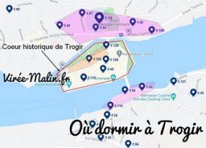 Où dormir à Trogir ? La ville proche de l'aéroport de Split