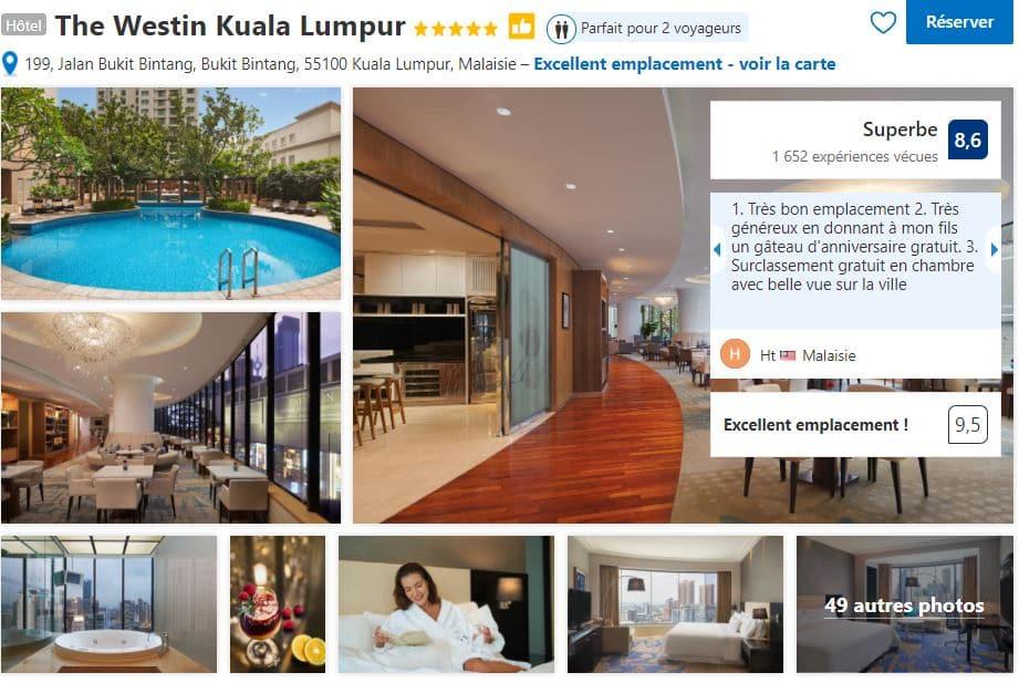 the-westin-hotel-très-bien-placé-kuala-lumpur